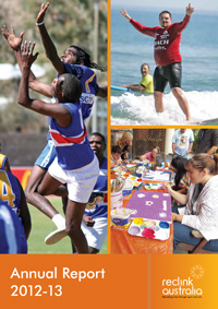 Reclink Annual Report 2012-2013