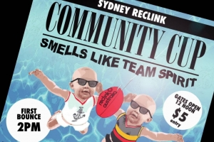 Lee Lin Chin on the Sydney Reclink Community Cup vII