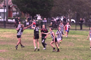 Collingwood Knights 1 v Sacred Heart
